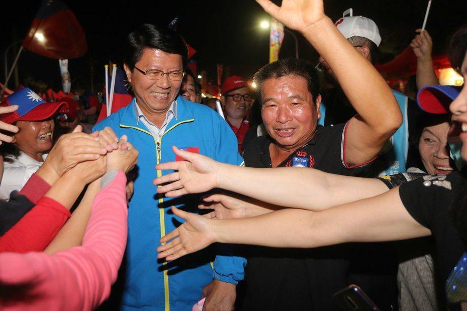 國民黨台南市黨部主委謝龍介。圖/本報資料照片