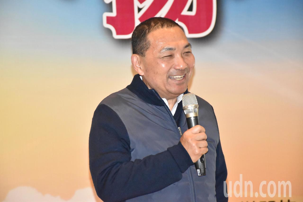 新北市長侯友宜表示會以事務官精神推動市政,讓新北成為大台北中心。記者江婉儀/攝影