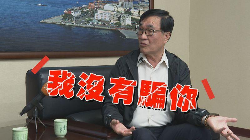 李四川說面對高雄難解的財政問題,他倒不反對他去選總統,他認為以韓國瑜對高雄的了解,若當選總統,一定可以補強、挹注高雄。記者徐宇威/攝影