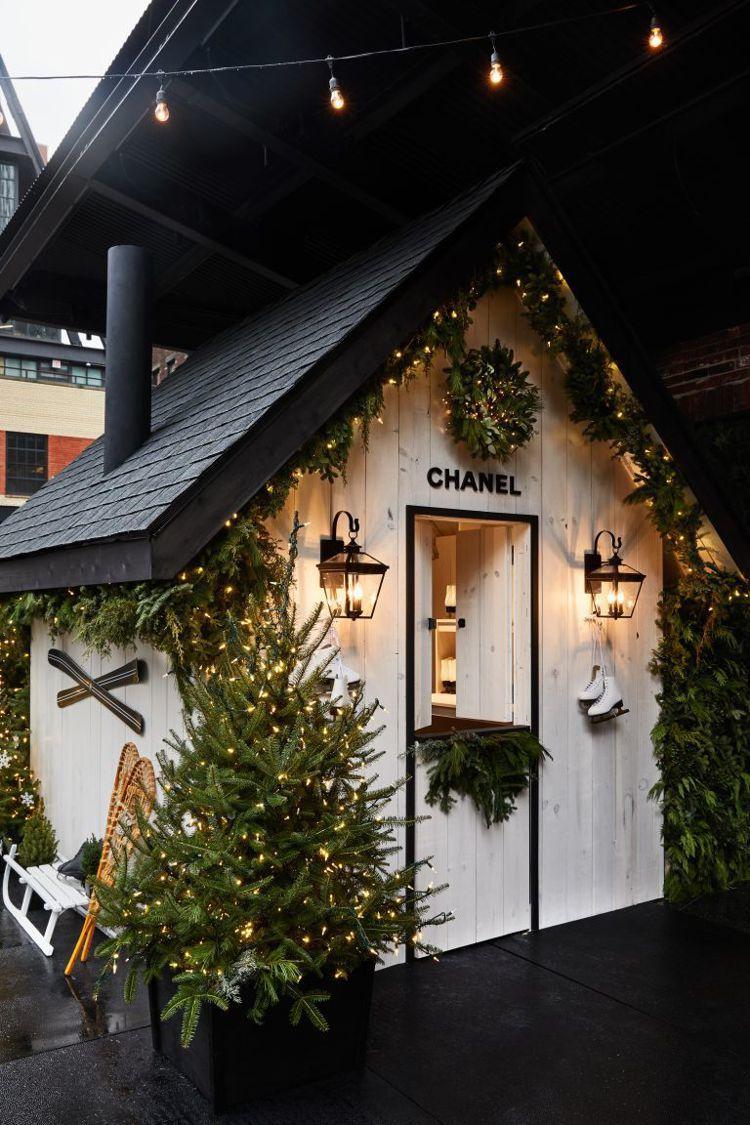 「CHANEL N°5 IN THE SNOW」快閃計畫只有短短幾天,即日起至1...