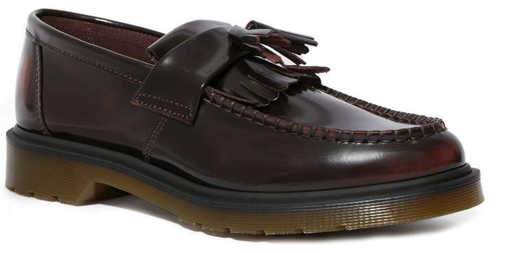 Dr.Martens酒紅色Adrian樂福鞋(中性款),原價6,480元、特價3...