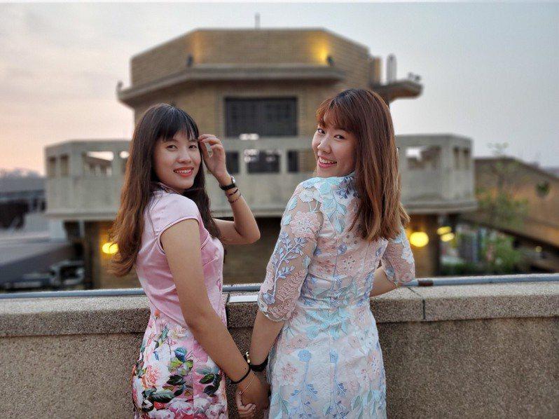 想學志玲姐姐在台南美術館婚宴的美拍嗎?台南業者趁機推出志玲花嫁小旅行。圖/三道門文創旅店提供