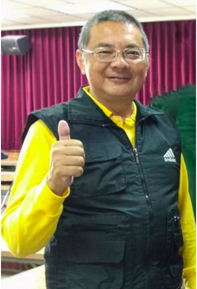 統促黨提名屏東第一選區立委參選人翁啓峯。記者江國豪/翻攝