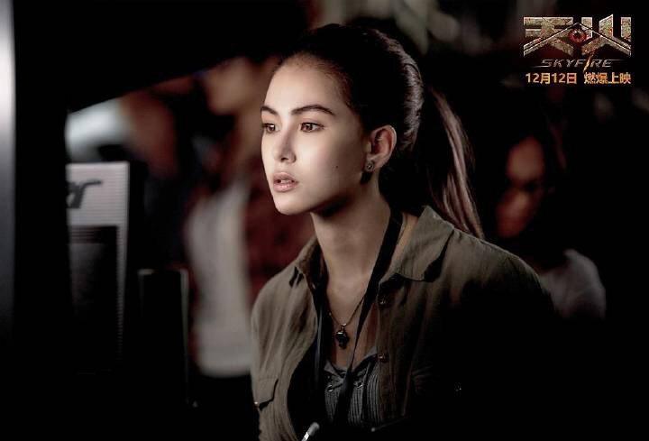 昆凌主演電影「天火」12日在大陸上映。圖/摘自天火官方微博