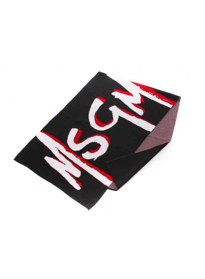 Logo圍巾,9,800元。圖/MSGM提供