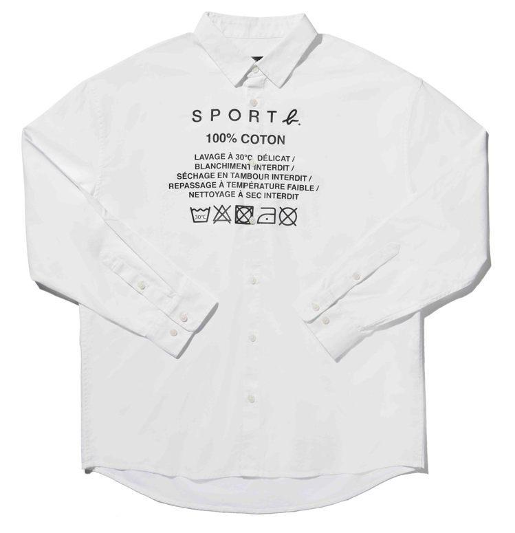 襯衫(男款) ,4,980元。圖/SPORT b.提供