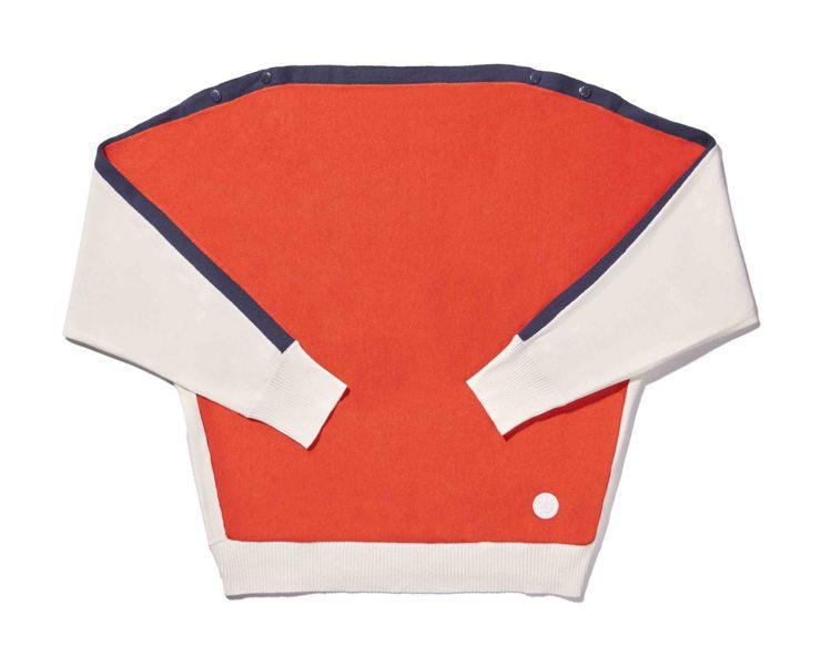 針織衫(女款) ,5,880元。圖/SPORT b.提供