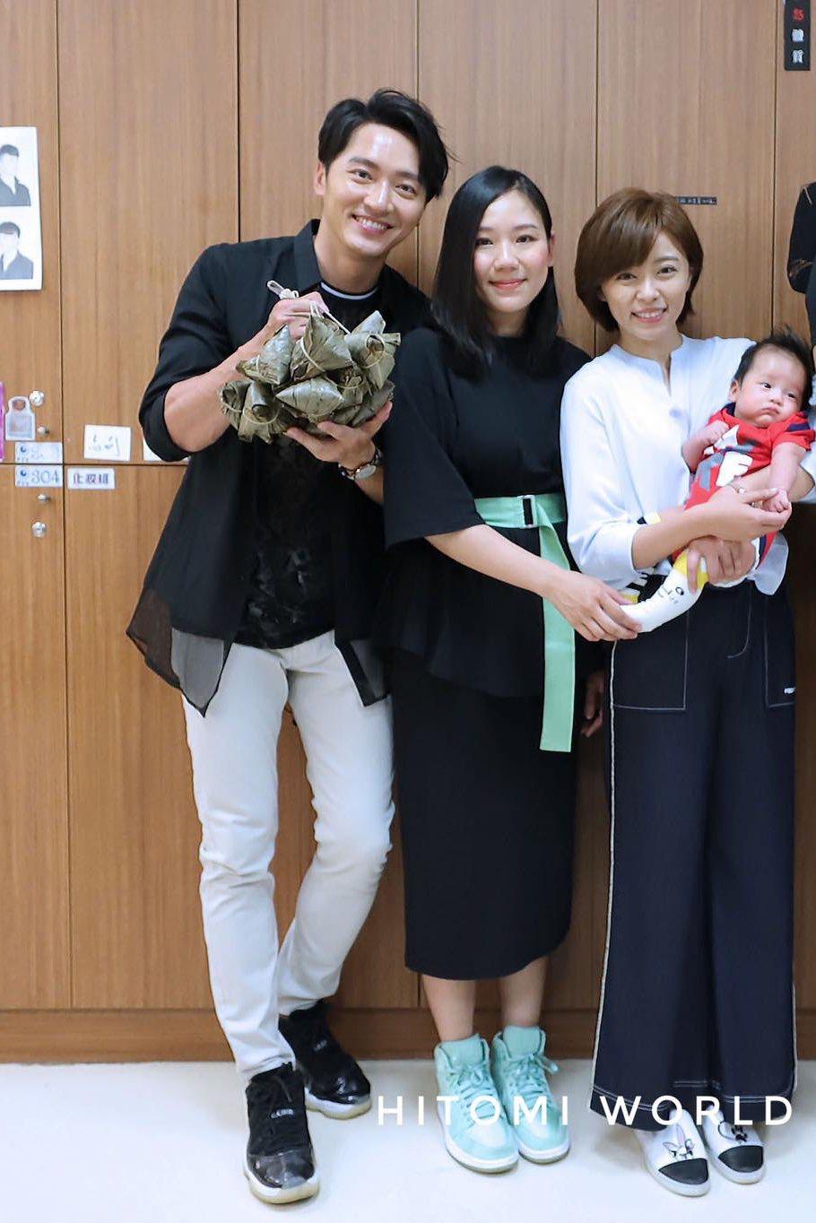 馬俊駿(左起)、梁敏婷及王瞳三人關係錯縱複雜,最後還鬧上法院。 圖/摘自臉書