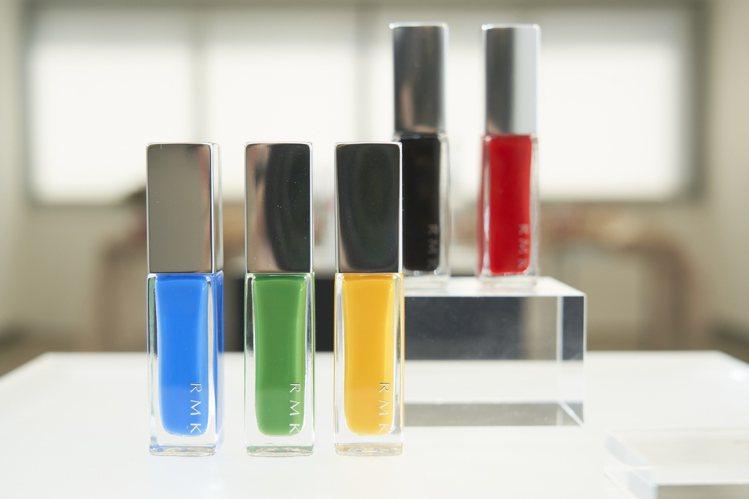 RMK幻色指采全5色/550元。圖/RMK提供