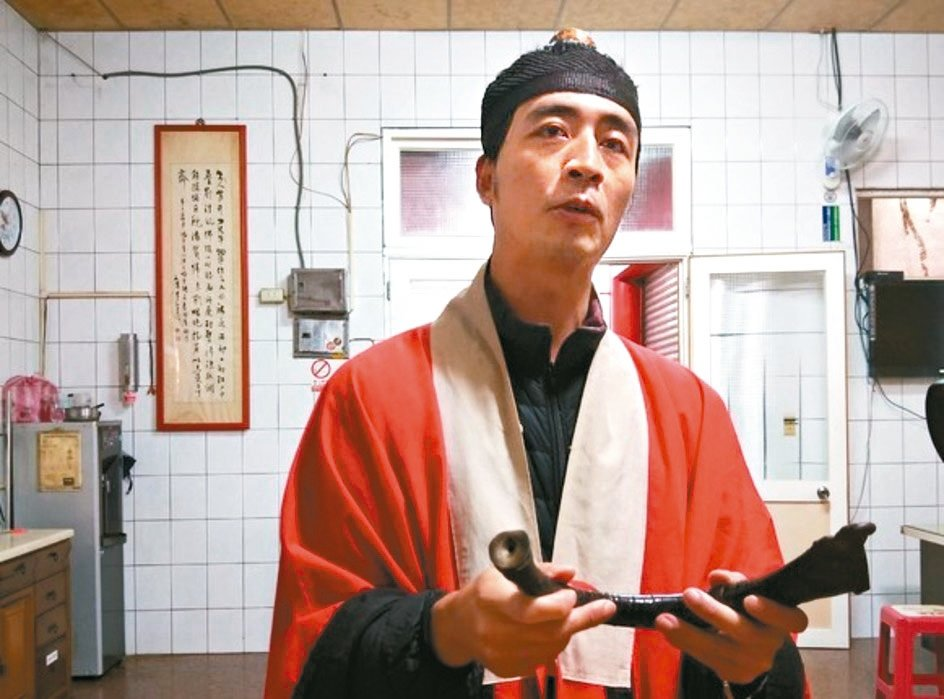 潘政鵬錄取淡大管理科學系博士班。 記者游明煌/攝影