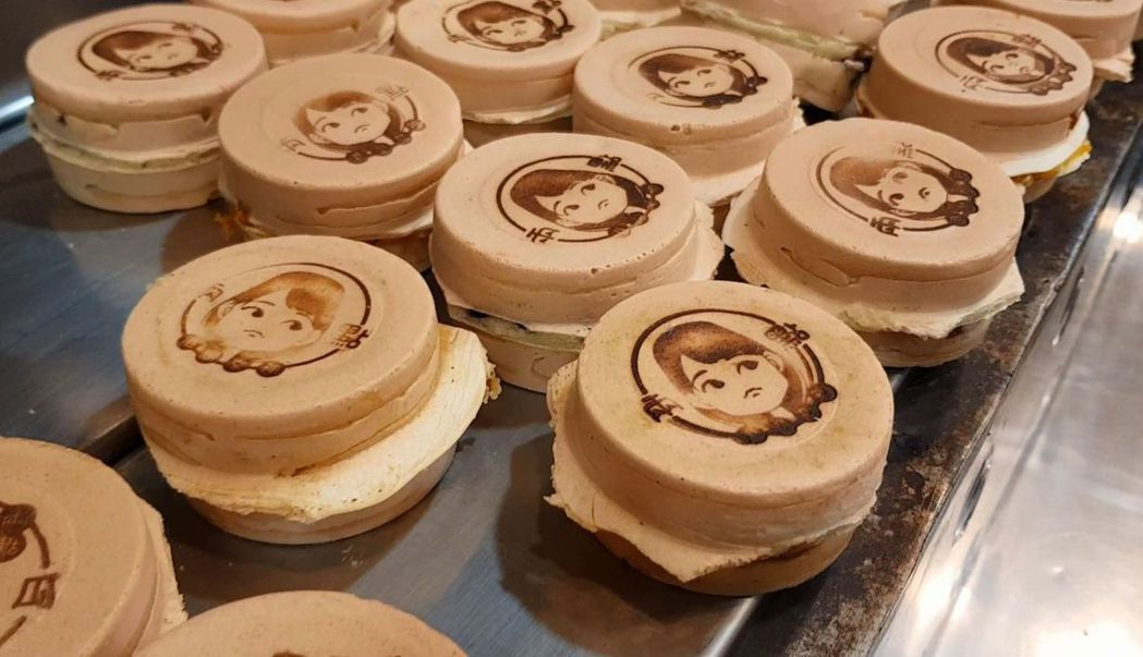 高嘉瑜推出「Q版港湖女神」頭像車輪餅。 圖/聯合報系資料照片
