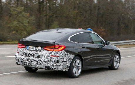 小改款BMW 6-Series Gran Turismo測試中 跟5 Series擁有相同亮點!