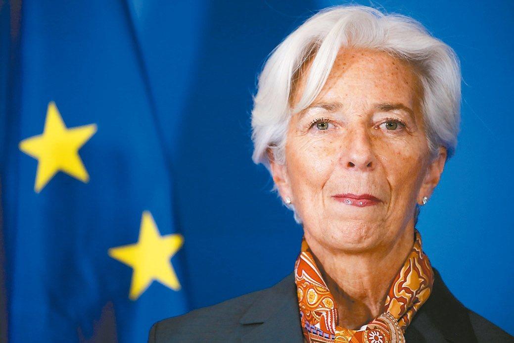 ECB總裁拉加德暗示近期可能不會降息。 歐新社