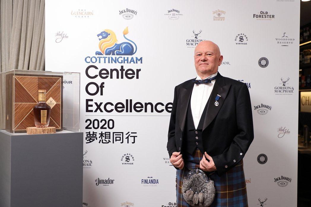 廷漢企業CEO柯廷漢秉持精準獨道眼光及酒類專業,取得市場競爭優勢。業者/提供