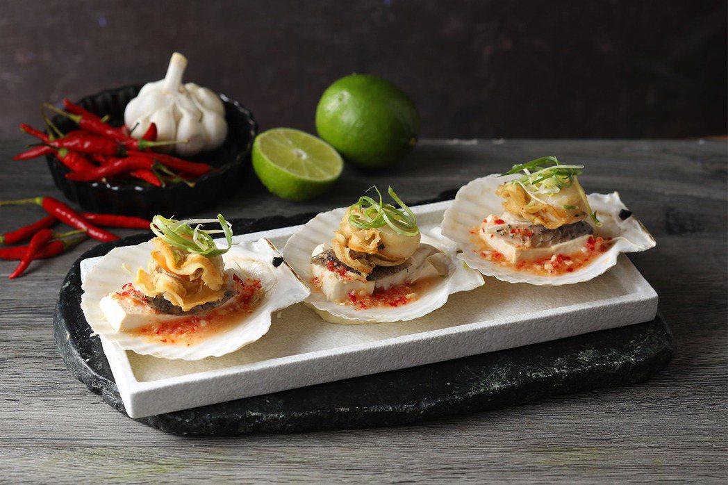 Asia 49-檸香扇貝蒸魚片NT$360。