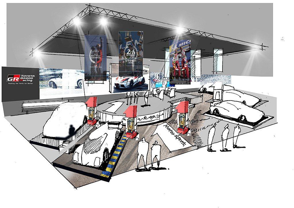 2020年東京改裝車展還會展示2020年版WRC賽車、GR PARTS陣容、GR...