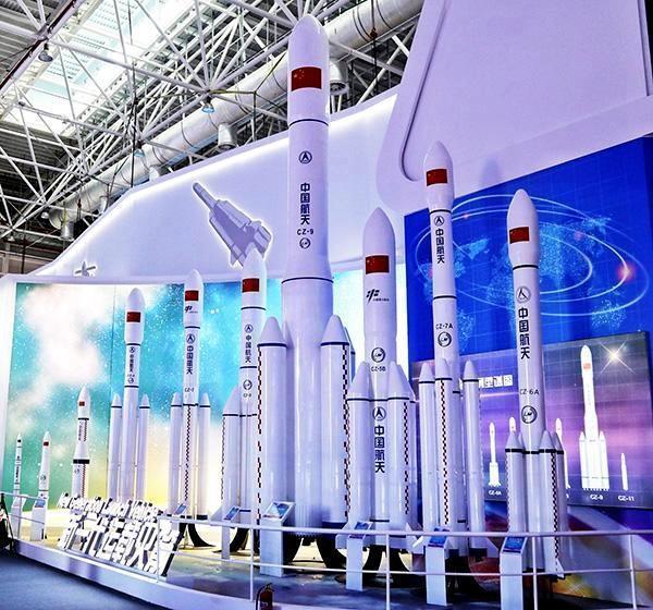 中國航天科技集團研製中國新一代載運火箭。取自新京報