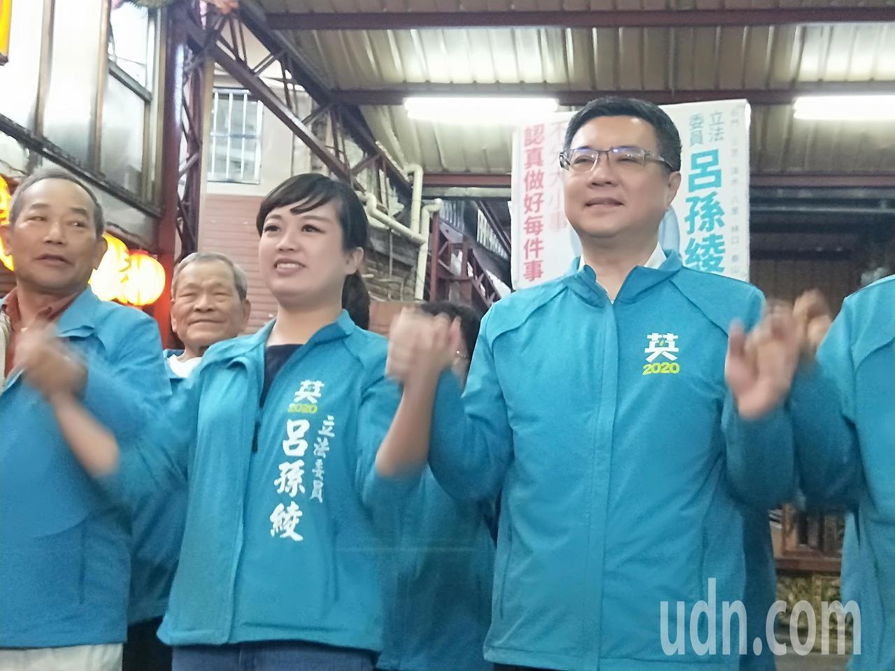 民進黨主席卓榮泰認為韓國瑜刻意挑起對立,張善政昨晚應徹夜難眠。記者施鴻基/攝影