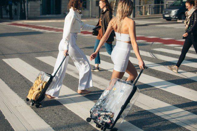 Crash Baggage讓你使用行李箱,不用擔心受怕。圖/Crash Bagg...