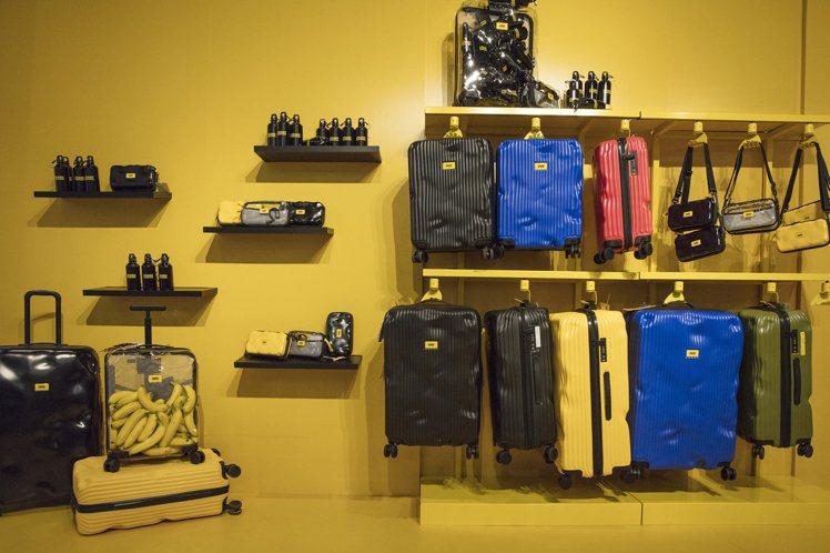 來自義大利的行李箱品牌Crash Baggage,進駐台灣。圖/Crash Ba...