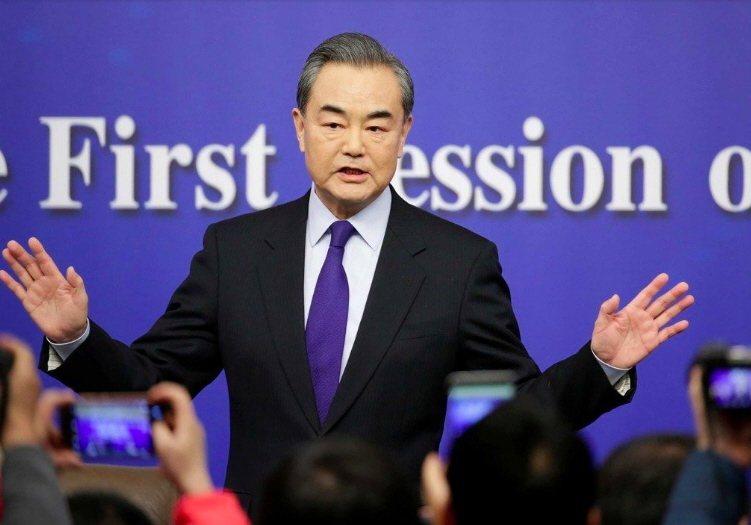 大陸外交部長王毅。本報資料照片