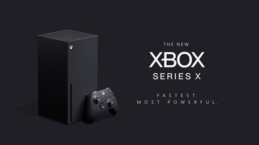 微軟最新款遊戲機Xbox Series X亮相。圖/擷自Xbox推特