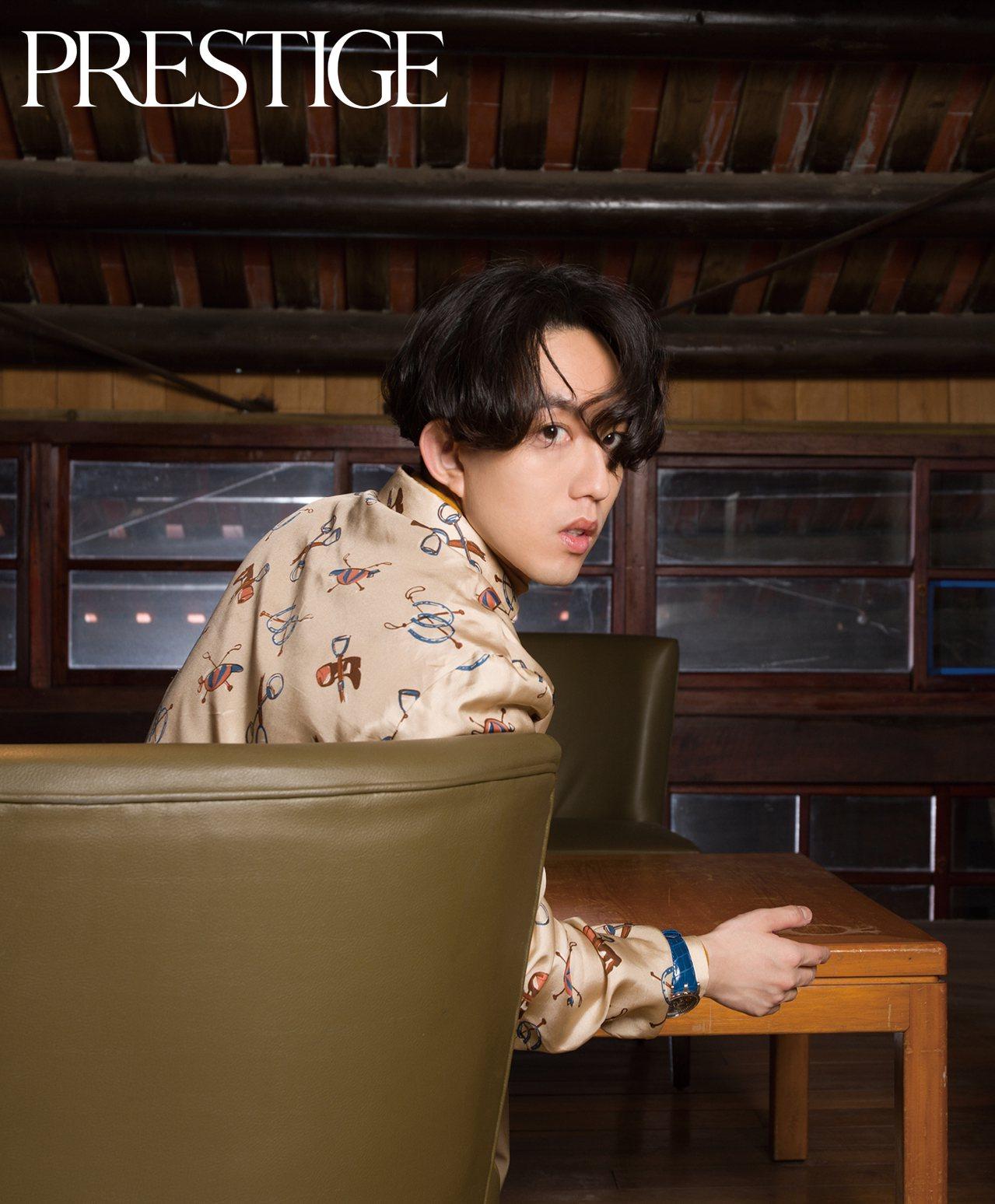 林宥嘉以好歌聲和暖心浪漫形象,深植人心。圖 / PRESTIGE TAIWAN提...
