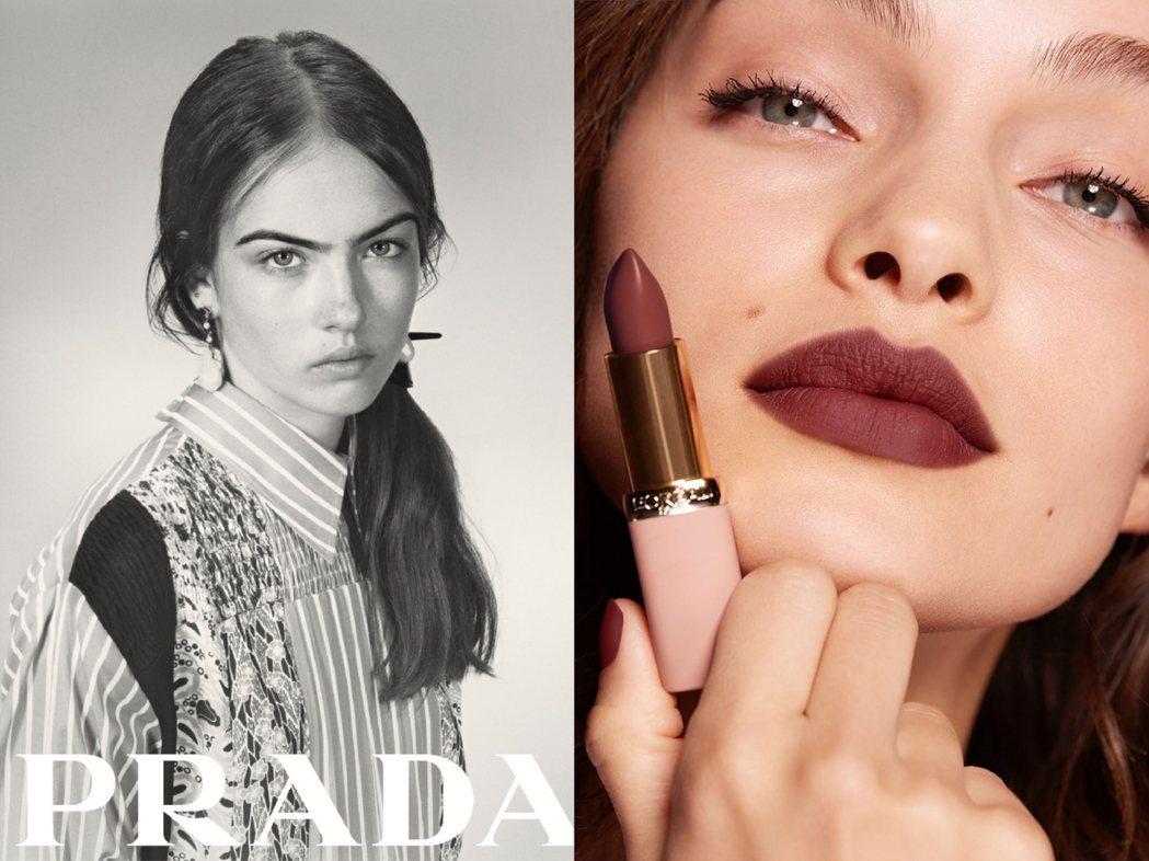 PRADA與L'Oreal共同宣布展開合作,推出頂級美妝品牌。圖/PRADA提供...