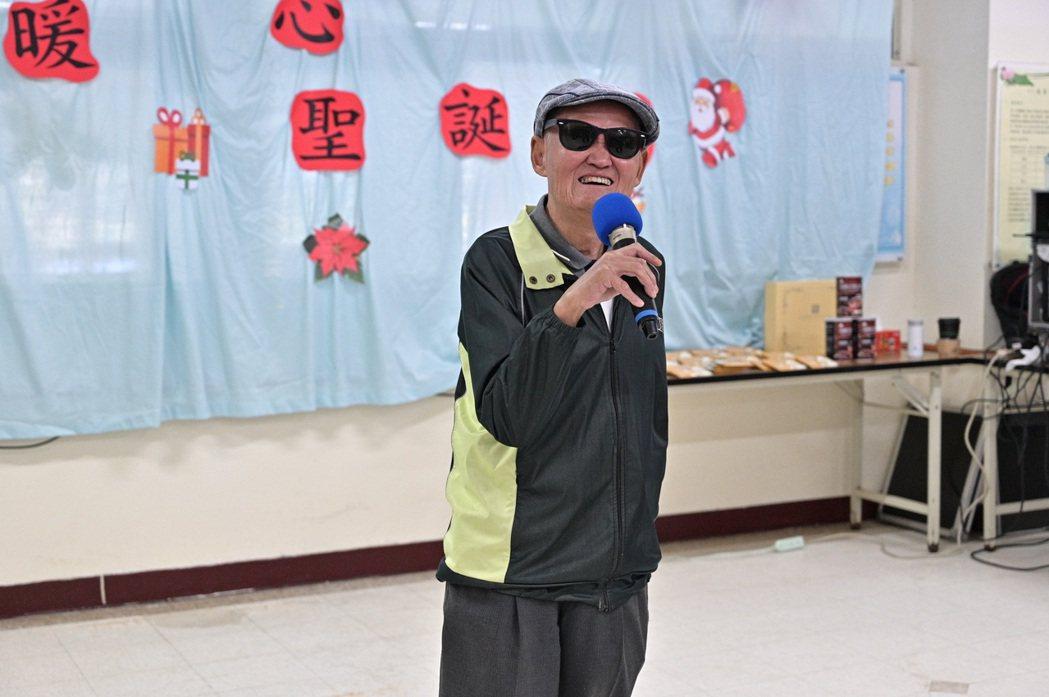 李炳輝精神狀況不錯。圖/台灣優質生命協會提供
