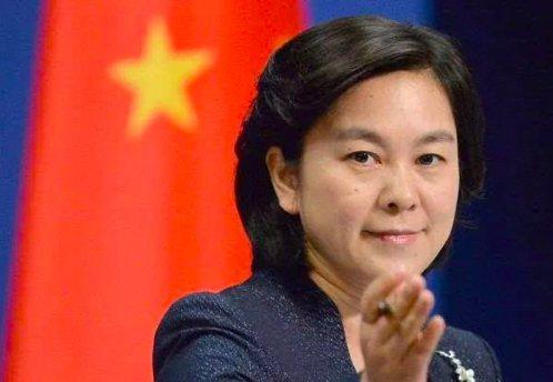 大陸外交部發言人華春瑩。本報資料照片