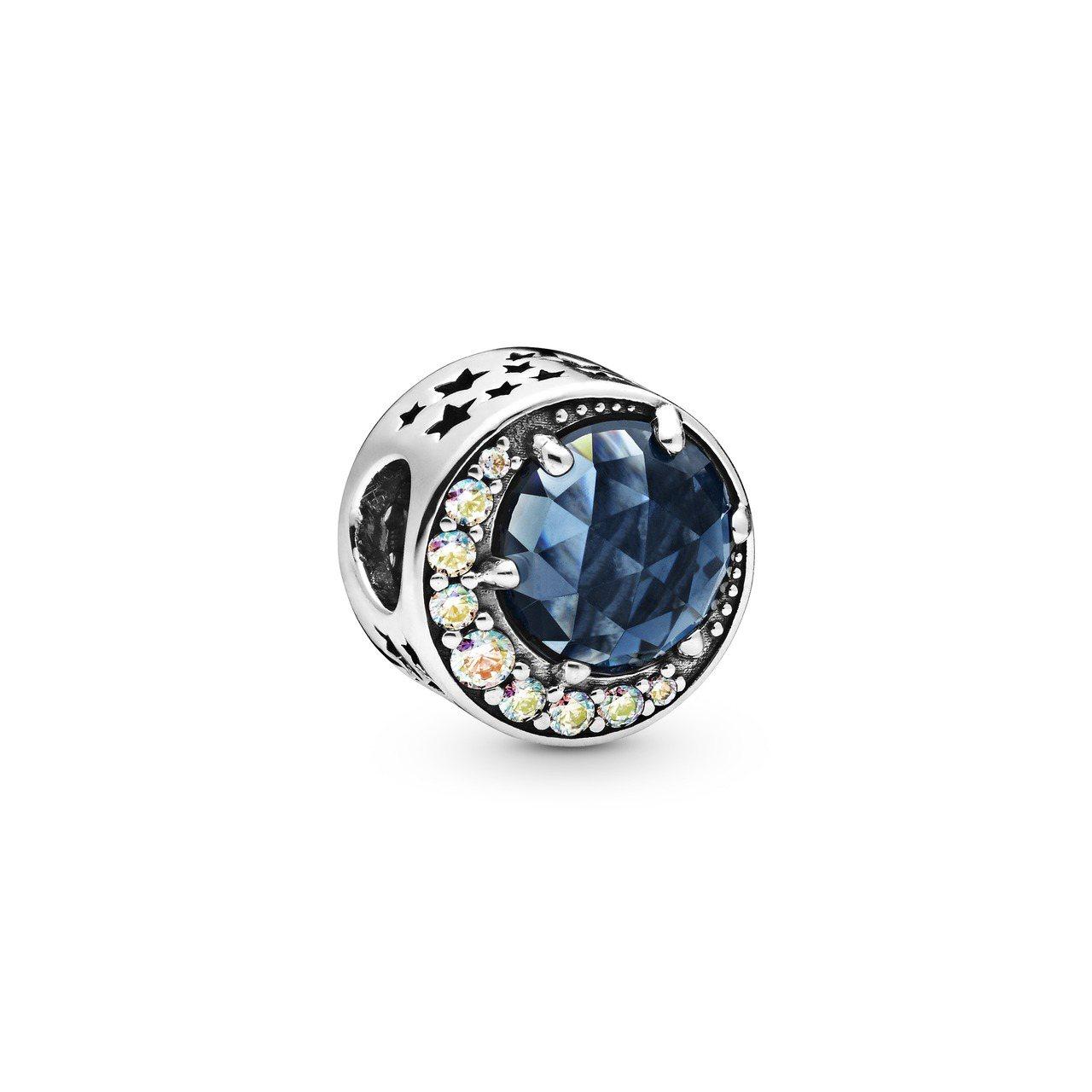 Pandora星月皎潔多彩極光串飾3,280元。圖/Pandora提供