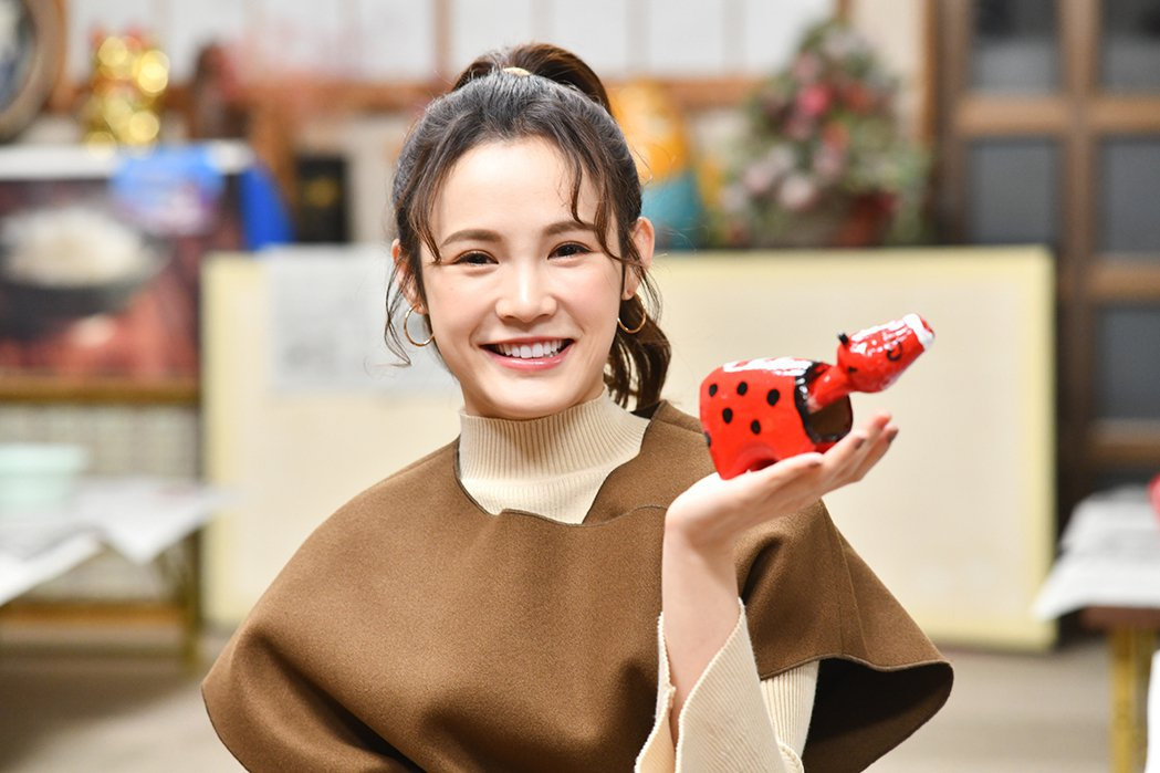 吳心緹擔任日本「JR只見線」應援大使動。圖/傳遞娛樂提供
