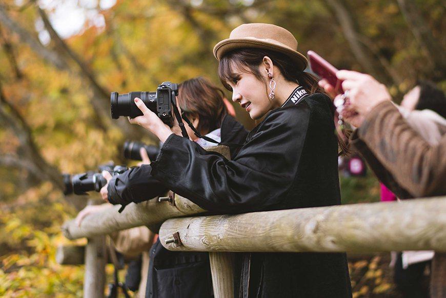 吳心緹擔任日本「JR只見線」應援大使。圖/傳遞娛樂提供