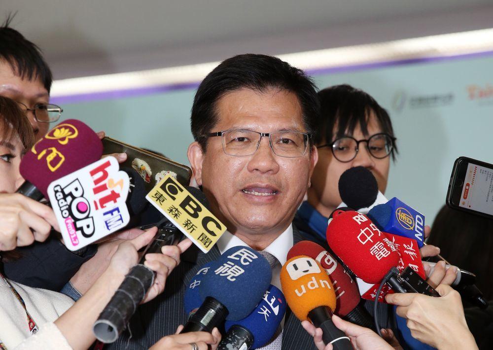 交通部長林佳龍。記者曾吉松/攝影