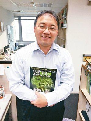 科學人雜誌副總經理林彥傑。 圖/林彥傑提供