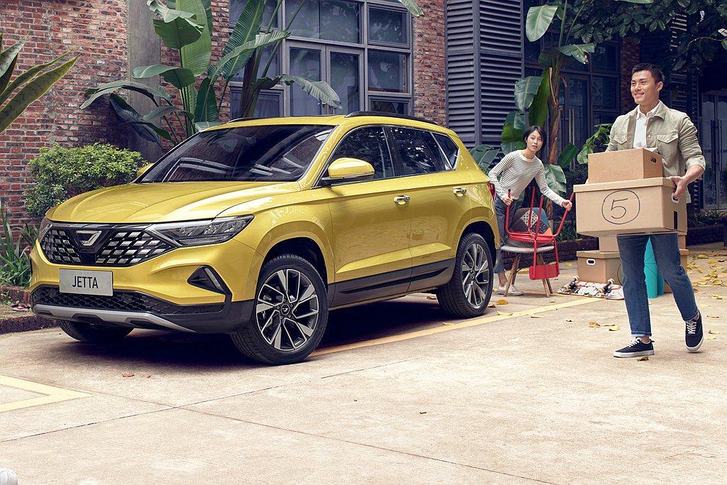 中國新「JETTA」捷達新平價汽車品牌,成立不到一年時間銷售成績相當出色。 圖/...