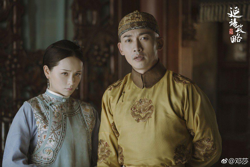 鄧莎在「延禧攻略」中飾演魏瓔寧。圖/擷自微博