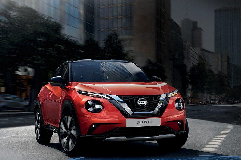 全新第二代Nissan Juke已經在英國市場開始交車。 圖/Nissan提供
