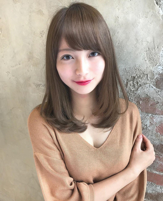 模特兒的理髮前後對比照,讓網友視線全歪。圖翻攝自Twitter「kimino_k...