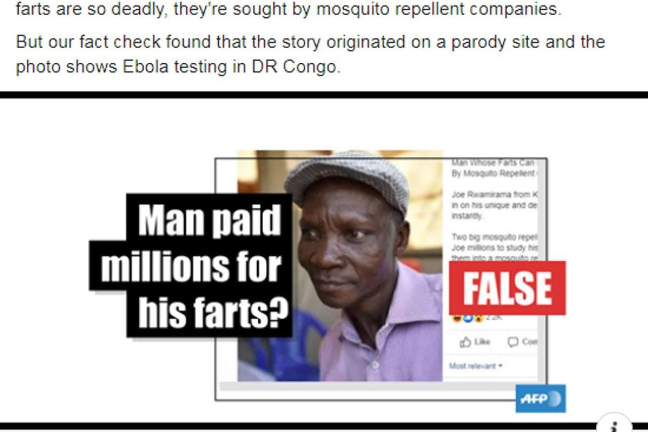 他放屁能臭死所有蚊子?國際媒體都被騙倒 真相曝光了