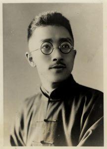 青年才俊的胡適先生。圖片來源│胡適紀念館