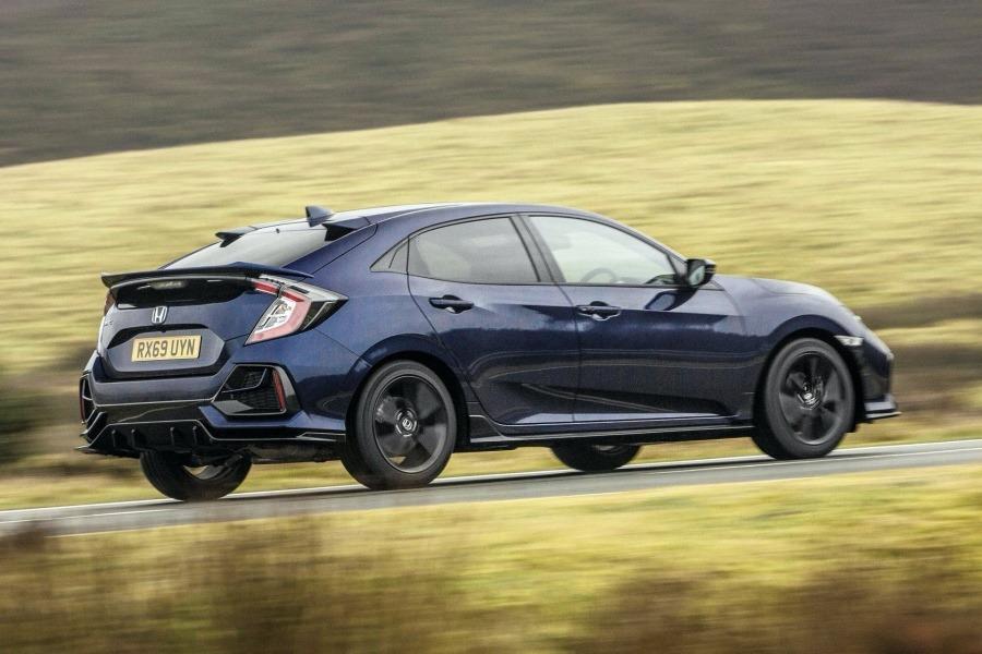 外型很殺的2020 Honda Civic Sport Line!其實只有126匹馬力