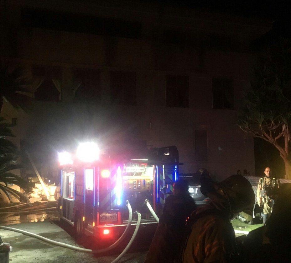 台南玉井佛堂遭縱火,曾姓兄弟跳樓逃過一劫。本報資料照片