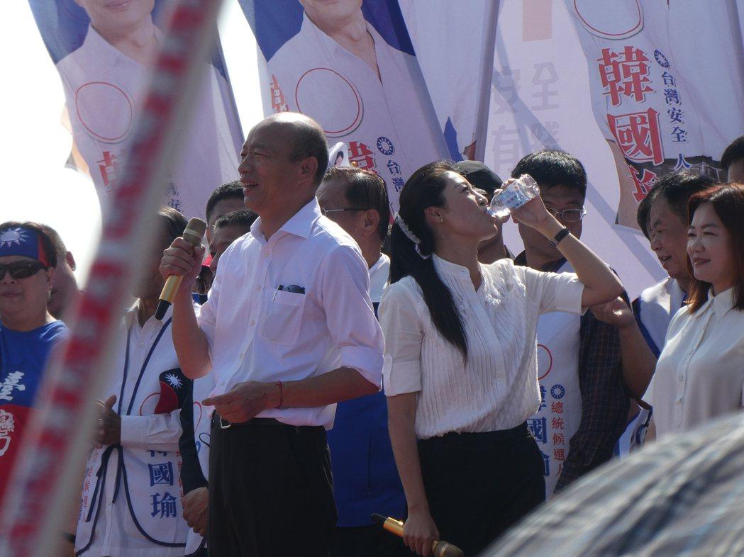 2020選戰倒數,擅長造勢活動的國民黨總統候選人韓國瑜也將回歸街頭,從下周起至投...