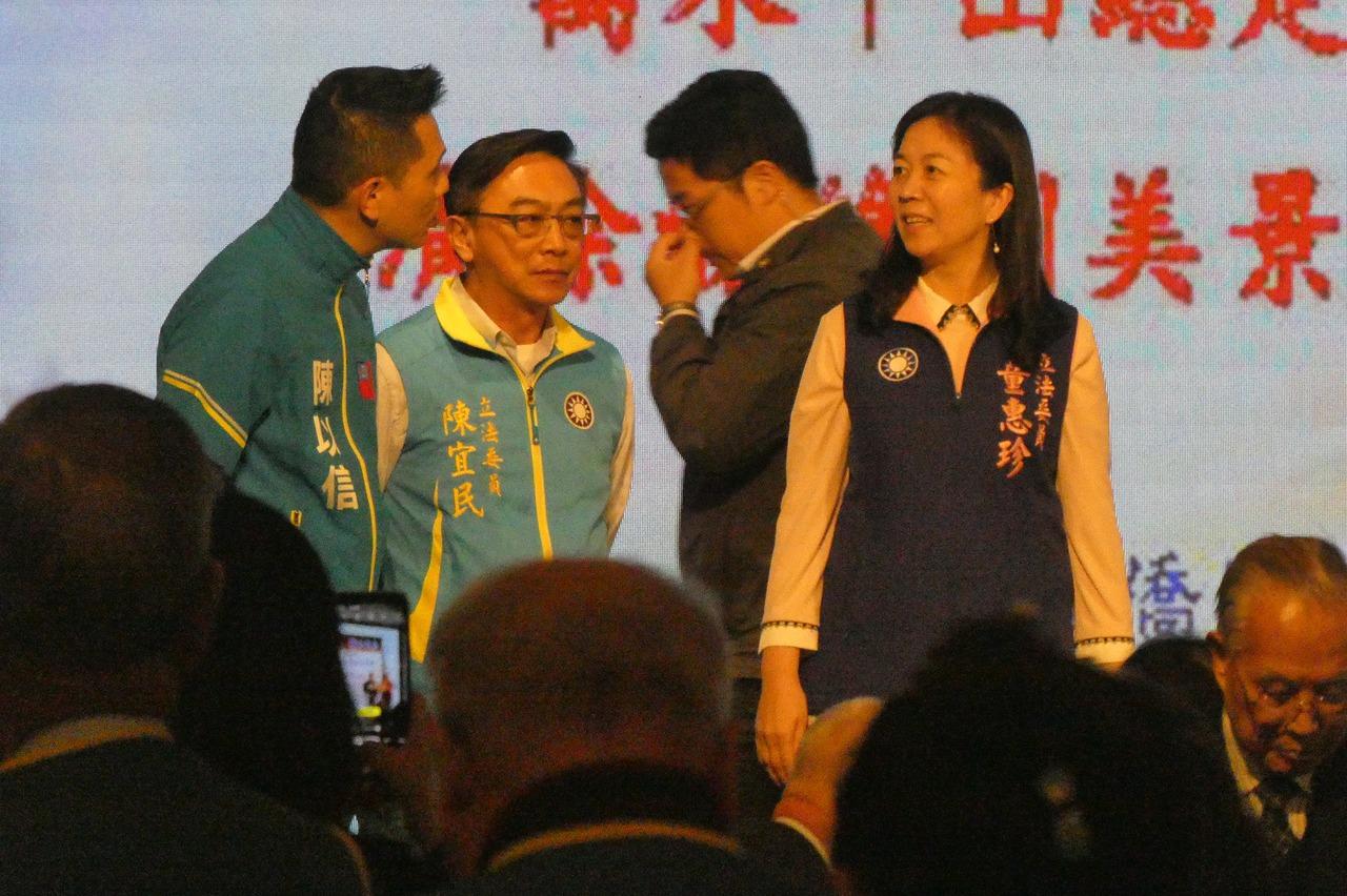肯定陳宜民為推擠女警致歉 羅智強:謝長廷道歉了嗎?