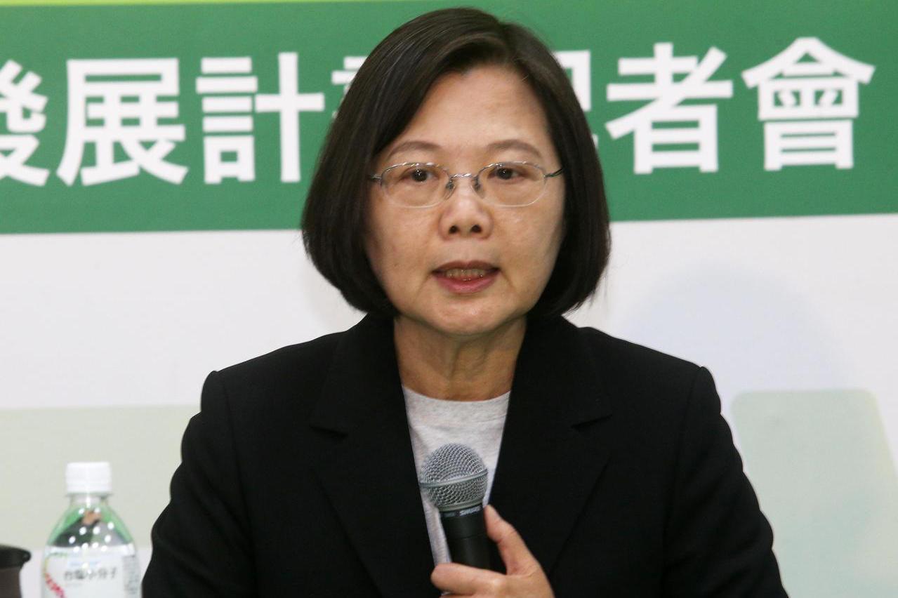 蔡總統承諾 31日通過反滲透法