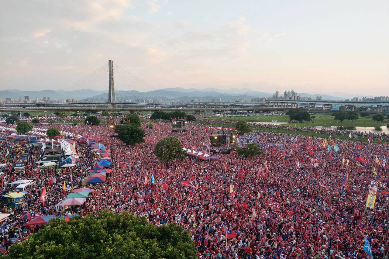 確定了!韓國瑜1月4日造勢辦在新北水漾公園
