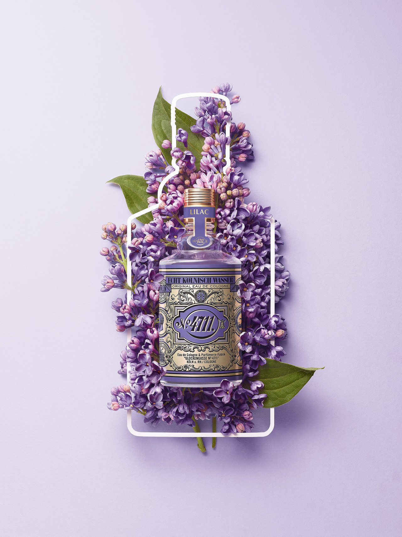 4711 Floral collection花卉系列「紫丁香LILAC」,100...