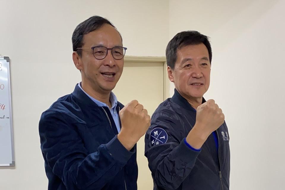 候選人好拚 立委費鴻泰明參加台北馬拉松