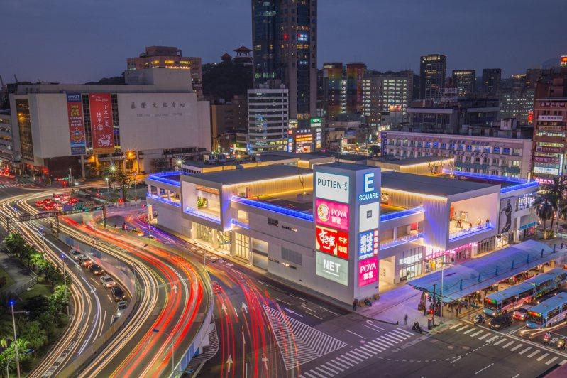 暗黑停車場變人氣商場,基隆東岸商場奪台灣建築獎首獎。圖/基隆市政府提供